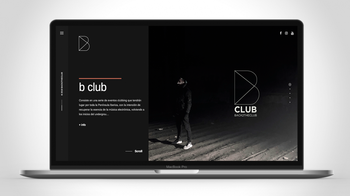B Club Website