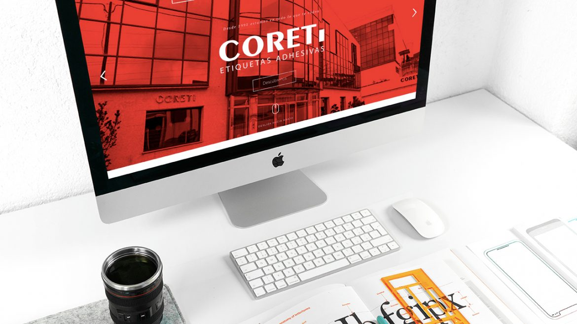 Coreti Etiquetas Website